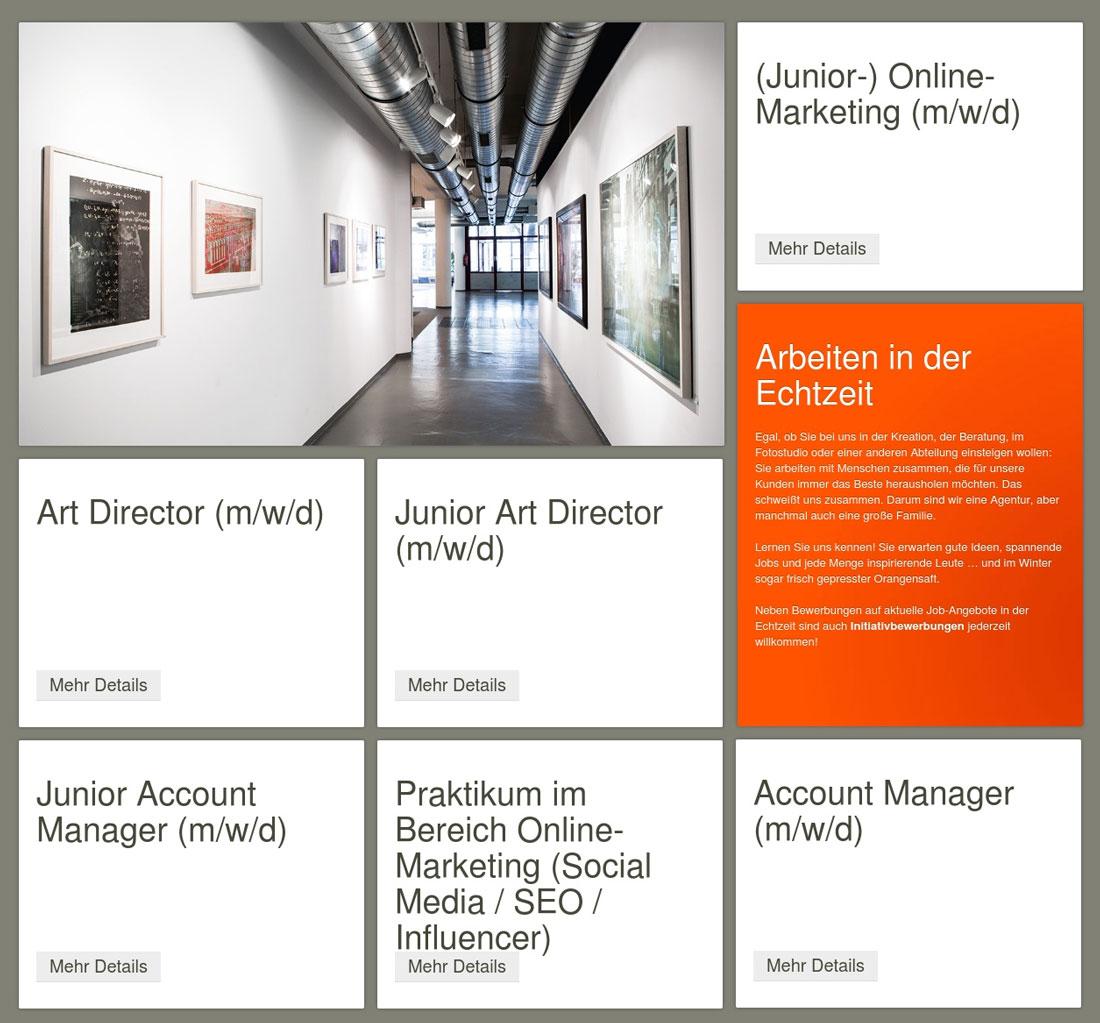Digitales Arbeiten in der ECHTZEIT Werbeagentur